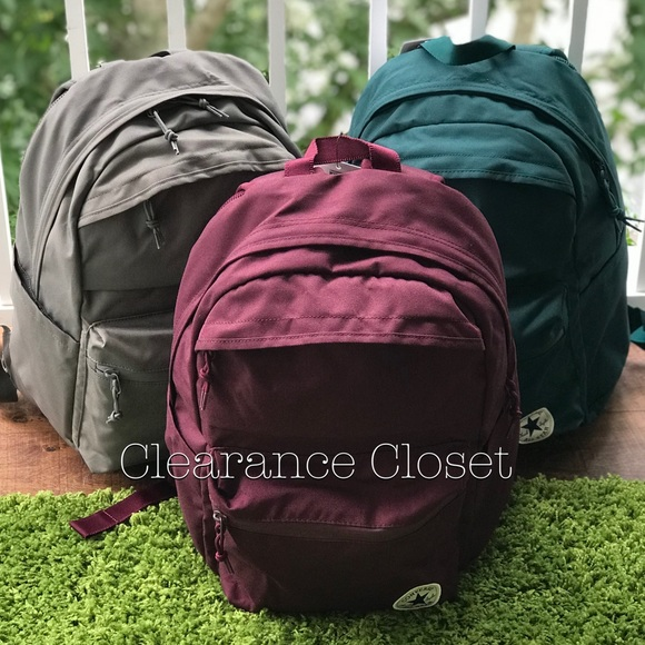 Converse Poly Chuck Plus 1.0 Backpack Maroon Unise 74b3ce81e0176